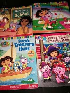 Dora the Explorer - 4  Storybooks for RM8