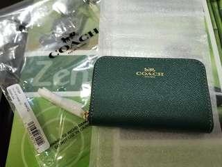 Coach Coin Case/Card Holder (真皮散紙包/咭片包)
