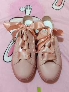🚚 粉色蝴蝶結鞋39號24.5號,390元