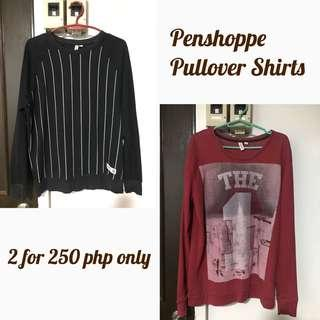 Penshoppe Pullover Shirts