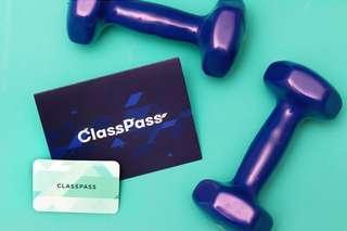 ClassPass RM125 voucher