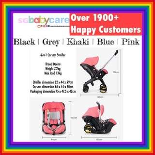 *INSTOCK* FREE DELIVERY  Convertible Car Seat Stroller Doona like