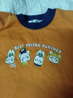 Tshirt girl 1 -3 tahun
