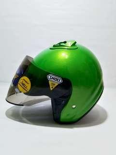 Shoei jf2 hijau copy