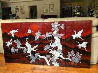 4 piece painting joining