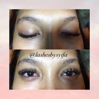 Eyelash Extension Special Price Promo Untill End January!😍✨