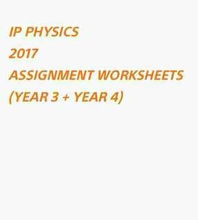 ∆ ($4) IP PHYSICS ASSIGNMENT SOFTCOPY