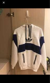 🚚 Adidas pullover jacket