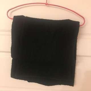 🚚 二手黑色圍巾