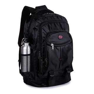 Black Multi Purpose Travel Backpack/ Haversack/ Bag - New!