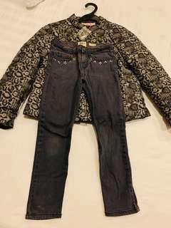 Jackets and Jeans for Girls Sz6