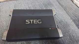 Used Steg K401 4 channel Car Amplifier