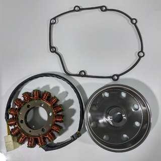 Aprilia V4 magnet/coil 1A010574