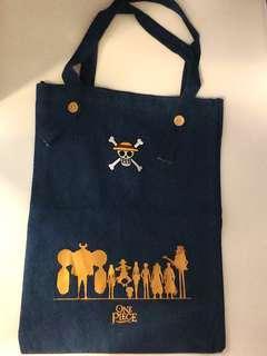 One Piece Limited Edition Tote Bag 珍藏限量版海賊王時尚牛仔布袋