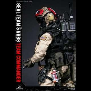 1/6 Scale US Navy SEAL Team 5 VBSS Team Commander Figure by DamToys