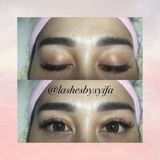 Eyelash Extension Special Price Promo Untill End January!😘✨