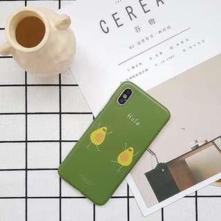 [PO] hola avocado iphone soft case