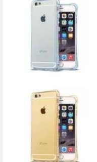 Apple iPhone 6 &6S Transparent Silicone casing