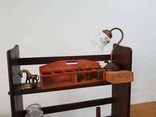 🚚 早期玻璃桌燈 檯燈