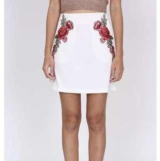 MDS Tsarina Skirt in White