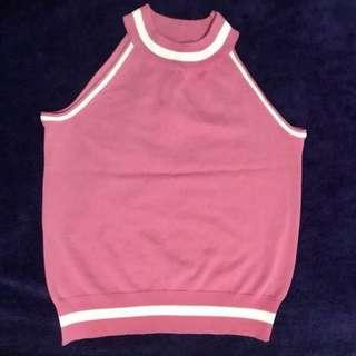 Barbie Pink Racer Top