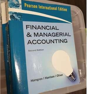Financial & Managerial Accounting - Second Edition