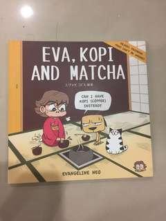 eva kopi and matcha book