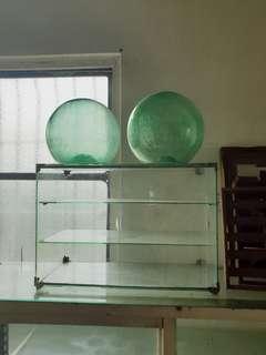 🚚 早期古老的水上玻璃浮球  超級厚料玻璃 氣泡濃 直徑約23.5-25公分