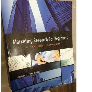 Marketing Research for Beginners - A practical handbook