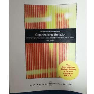 Organizational Behavior - Emerging Knowledge and Practice for the Real World - Fifth Edition