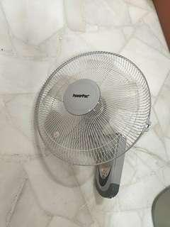 Powerpac Wall Fan - Faulty for spare parts