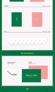 WTS TWICE MERRY & HAPPY PREORDER GIFT
