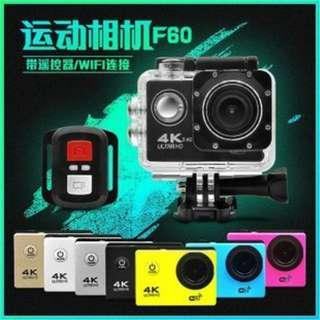 Brand New in stock F60R 2.0 Inch 4K 170 Degree Wide Angle WiFi Sport Action Camera Camcorder