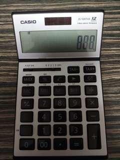 casio JS-120TVS 12 digits 計算機 計數機