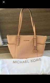 Authentic Michael Kors jet tote
