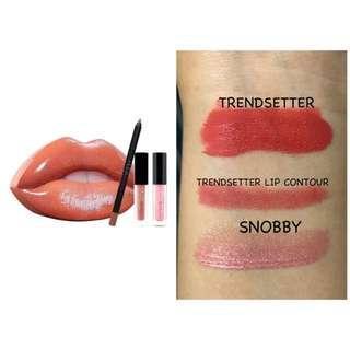 Huda Beauty Lipstick Set Matte Trendsetter