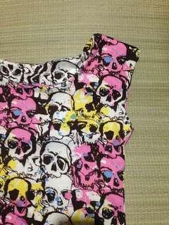 Skulls dress