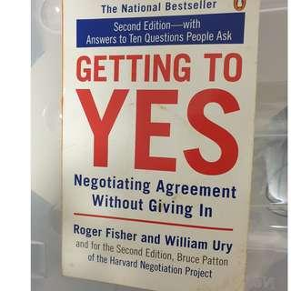 Getting to Yes - Negotiating Agreement without giving in - Second Edition