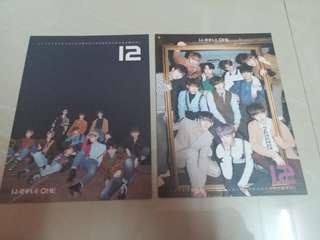 Wanna One NWY Calendar Card