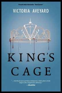 Ebook Red Queen Trilogy #3: King's Cage- Victoria Aveyard