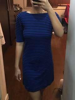 Uniqlo Stripe Shirt Dress