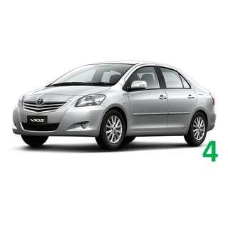 1 Week Contract Toyota Vios $380