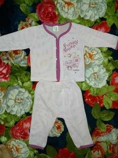 Baju Baby lubang2 preloved