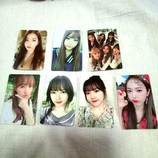 Gfriend photocard (official)