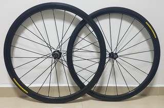 OEM 35mm Carbon Wheelset w/ Novatec Hubs