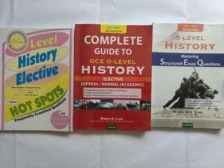 O level History Guidebooks Free postage