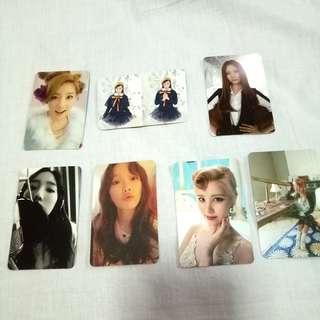 Taeyeon Snsd photocard (official)