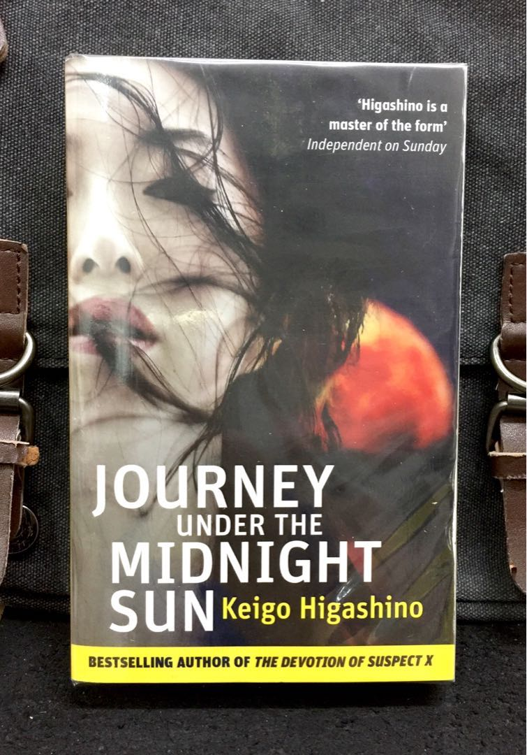 # Novel《New Book Condition + Crime Thriller Fiction》Keigo Higashino - JOURNEY  UNDER THE MIDNIGHT SUN : A 20-Years-Old Murder, A Chain Of Unsolvable ...