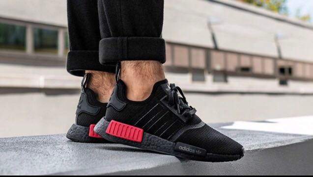 hot sale online 18409 eb527 Adidas NMD R1 B37618 Lush Red, Men s Fashion, Footwear, Others on ...