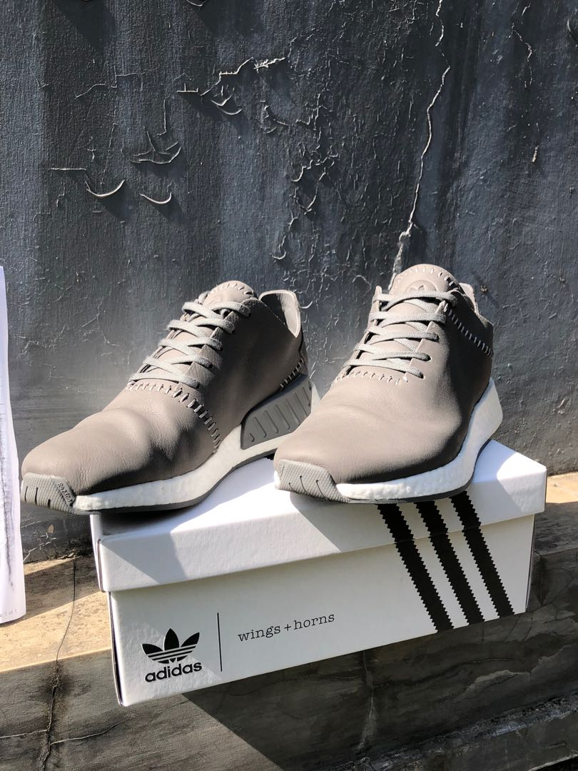 b6a6ba2164be3 Adidas NMD R2 X Wings and Horns LEATHER